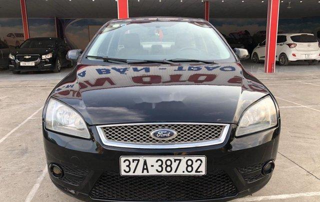 Cần bán Ford Focus sản xuất năm 2007, màu đen, nhập khẩu nguyên chiếc 2