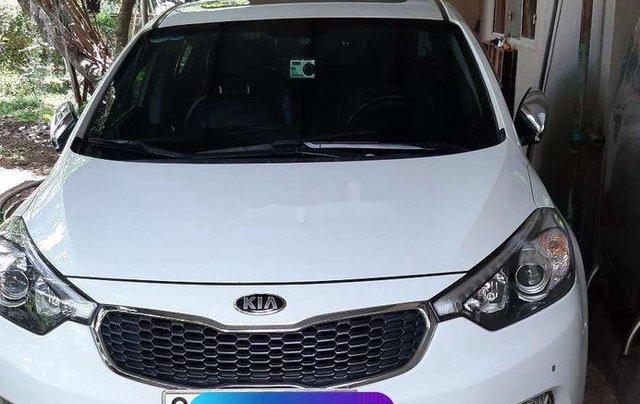 Bán xe Kia K3 1.6AT năm 2013, màu trắng, xe nhập0