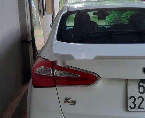 Bán xe Kia K3 1.6AT năm 2013, màu trắng, xe nhập4