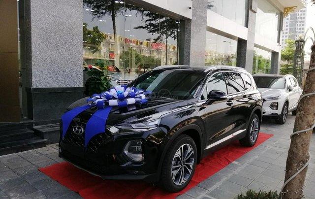 Hyundai Santa Fe dầu cao cấp 2020, đủ màu sẵn xe, lái thử chốt xe ngay không lăn tăn