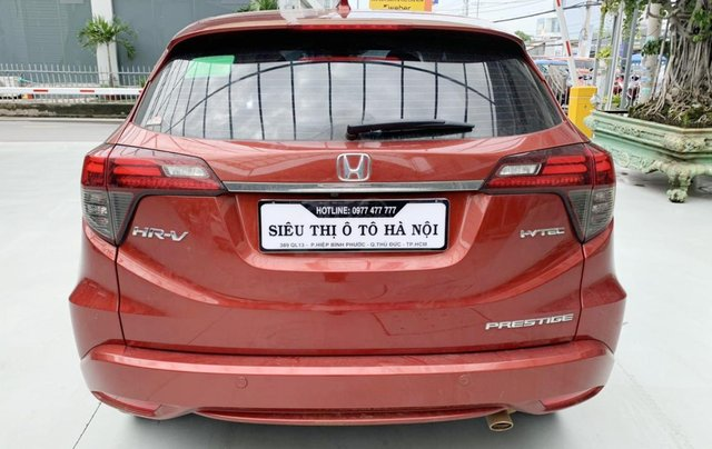 Honda HRV 1.8L 2019, biển SG,  bản cao cấp có cửa nóc3