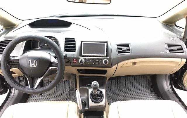 Honda Civic 1.8MT cuối 2009, màu đen, chính tên chính chủ 1 chủ cán bộ huyện đi từ mới, xe cực tuyển form mới 20104