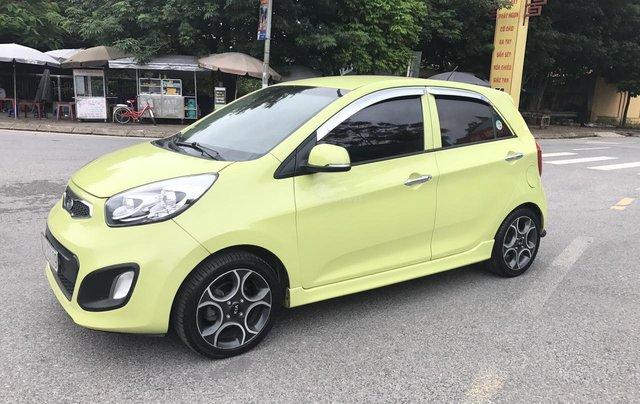 Kia Morning 1.0AT Sport cuối 2011 vàng chanh, 1 chủ, không mới, không đẹp, không chất tặng xe luôn, đẹp nhất thị trường1