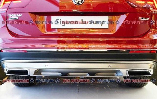 Xe Tiguan Luxury ưu đãi 120tr tiền mặt + gói quà tặng và phụ kiện trị giá 60tr, đủ màu sắc, vay NH 90%, lãi suất tốt12