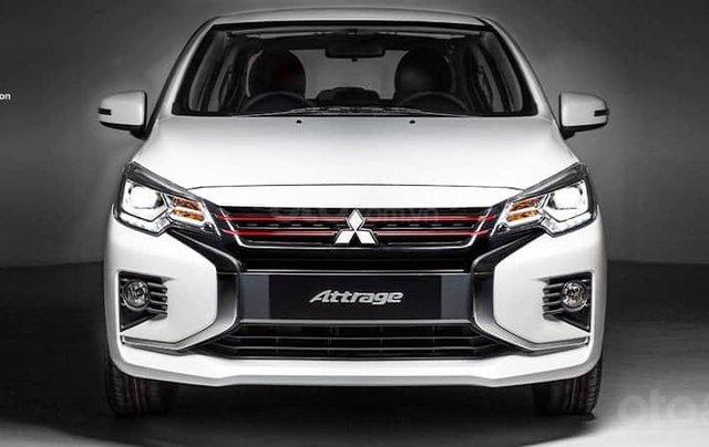 Mitsubishi Attrage 2020 - Giảm ngay 30tr tiền mặt +50% thuế, thời điểm cực tốt để sở hữu 1 chiếc xe sedan hạng b0