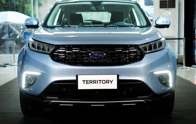 Ford Territory sắp ra mắt, thế chân Ford Escape đối đầu Honda CR-V2