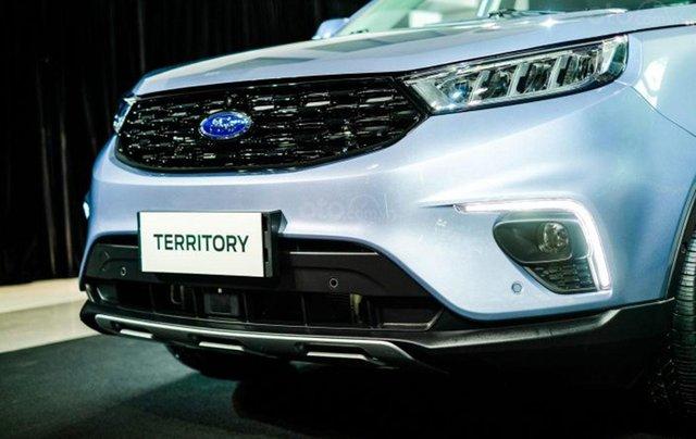 Ford Territory sắp ra mắt, thế chân Ford Escape đối đầu Honda CR-V4