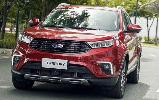 Ford Territory sắp ra mắt, thế chân Ford Escape đối đầu Honda CR-V0