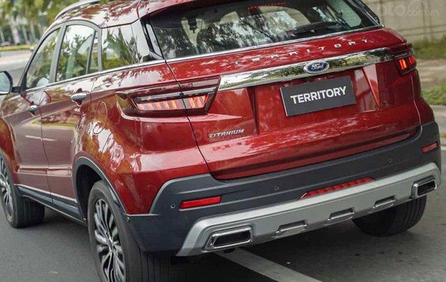 Ford Territory sắp ra mắt, thế chân Ford Escape đối đầu Honda CR-V1