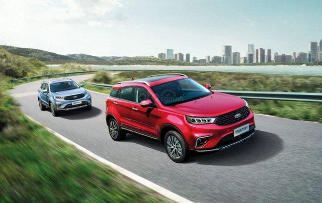 Ford Territory sắp ra mắt, thế chân Ford Escape đối đầu Honda CR-V10