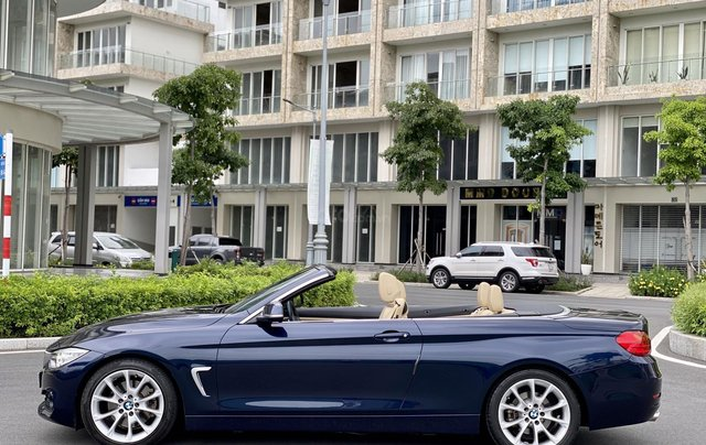 Bán BMW 428i (245hp) xanh/kem mui trần, model 20152
