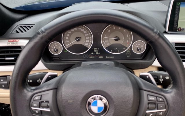 Bán BMW 428i (245hp) xanh/kem mui trần, model 20158