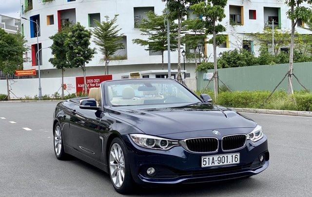Bán BMW 428i (245hp) xanh/kem mui trần, model 201512