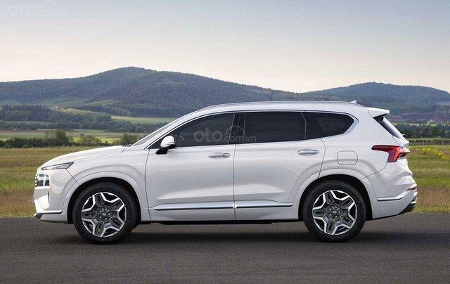 Hyundai Santa Fe facelift sẽ cập bến thị trường Việt vào đầu năm 20211