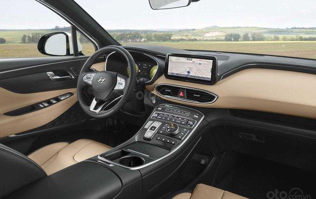 Hyundai Santa Fe facelift sẽ cập bến thị trường Việt vào đầu năm 20214