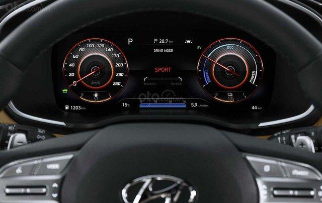 Hyundai Santa Fe facelift sẽ cập bến thị trường Việt vào đầu năm 20216