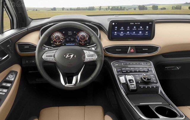Hyundai Santa Fe facelift sẽ cập bến thị trường Việt vào đầu năm 20215