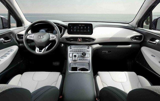 Hyundai Santa Fe facelift sẽ cập bến thị trường Việt vào đầu năm 202111