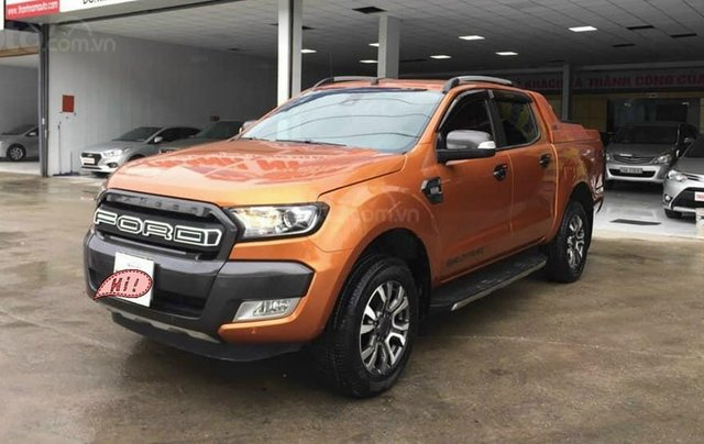 Bán Ford Wildtrak 3.2AT SX 2017, biển Hà Nội0