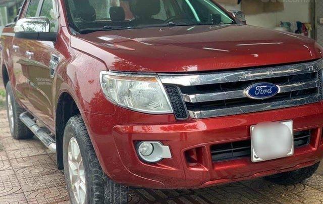 Cần bán Ford Ranger đời 2013, màu đỏ, nhập khẩu, giá tốt 469 triệu đồng2