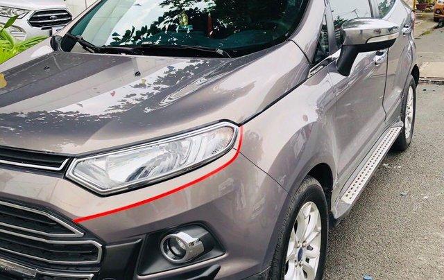 Bán ô tô Ford EcoSport đời 2015, màu nâu ít sử dụng, giá 450 triệu đồng0