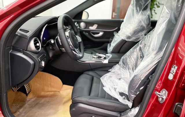Bán Mercedes C300 AMG 2020 màu đỏ siêu lướt, giá cực tốt2