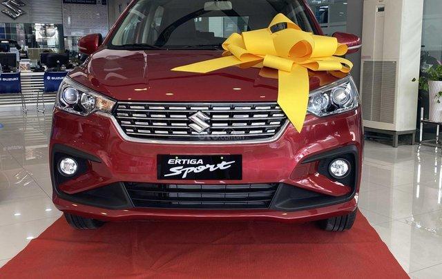 Suzuki Ertiga full option giá cực sốc, hỗ trợ trả góp cực cao, chỉ còn vài xe trả trước 100triệu có xe lăn bánh0