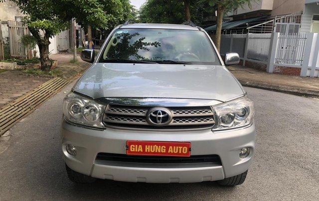 Gia Hưng Auto bán xe Toyota Fortuner V 2.7AT đời 2011, đăng ký chính chủ tên tư nhân0