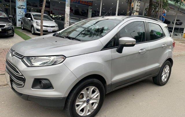 Xe Ford EcoSport đăng ký lần đầu 2017, màu bạc ít sử dụng, giá tốt 400 triệu đồng4