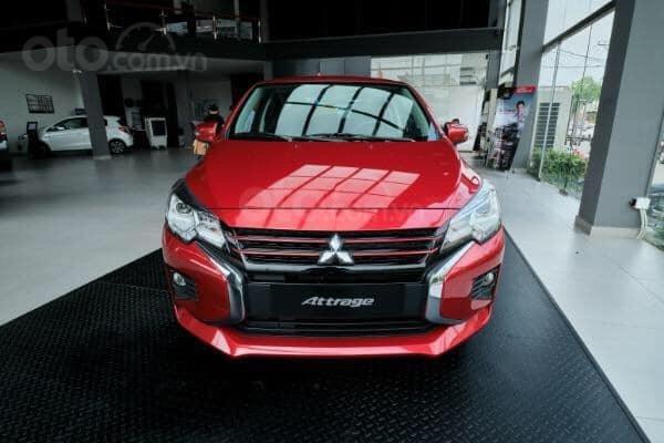 Mitsubishi Attrage 2020 hỗ trợ 50% thuế trước bạ, trả trước 126tr nhận xe0