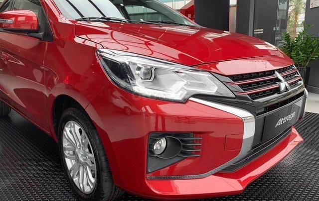 Mitsubishi Attrage 2020 hỗ trợ 50% thuế trước bạ, trả trước 126tr nhận xe1