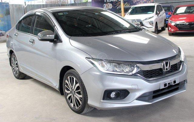 Honda City top 1.5AT 2018, màu bạc1