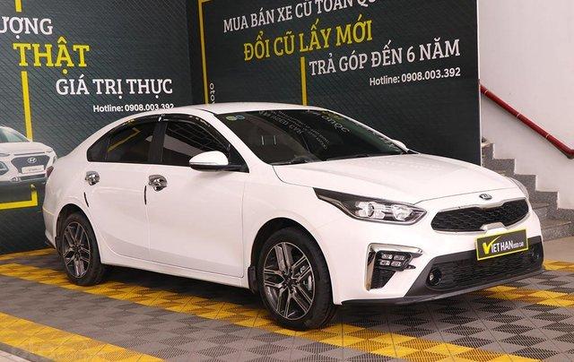 Bán xe Kia Cerato 1.6MT 2020, màu trắng0