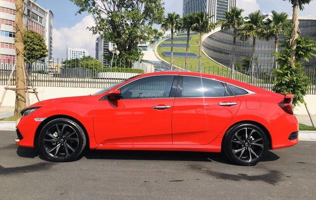 Honda Civic RS 1.5Turbo 2019. Xe nhập khẩu Thái Lan, đăng kí tư nhân 1 chủ mới như xe hãng, đi zin 8.000 km2