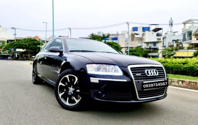 Audi A8 nhập Mỹ SX 2008, màu đen zin, xe 5 chỗ0
