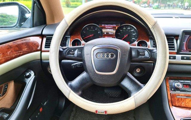 Audi A8 nhập Mỹ SX 2008, màu đen zin, xe 5 chỗ2