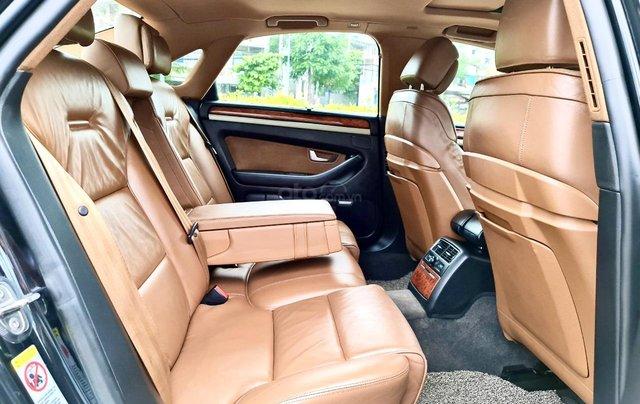 Audi A8 nhập Mỹ SX 2008, màu đen zin, xe 5 chỗ4