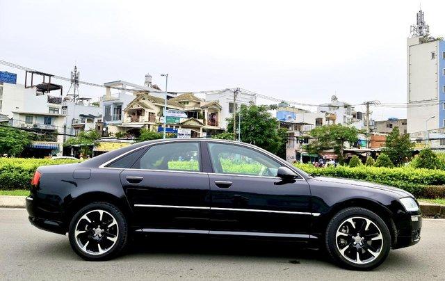 Audi A8 nhập Mỹ SX 2008, màu đen zin, xe 5 chỗ3