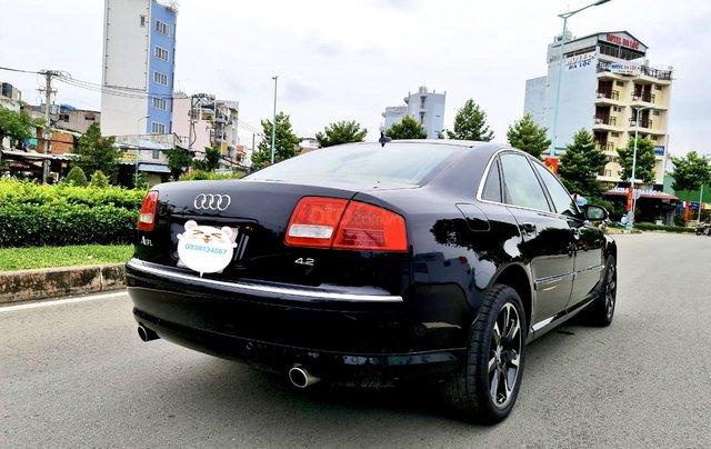 Audi A8 nhập Mỹ SX 2008, màu đen zin, xe 5 chỗ5