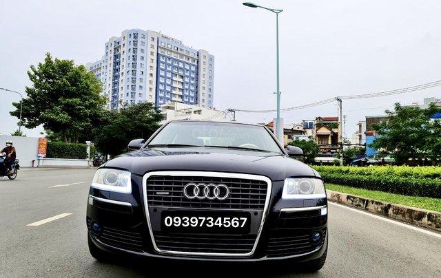 Audi A8 nhập Mỹ SX 2008, màu đen zin, xe 5 chỗ7