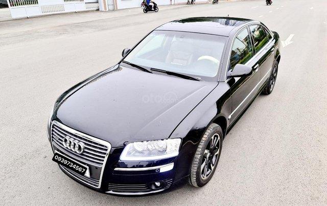 Audi A8 nhập Mỹ SX 2008, màu đen zin, xe 5 chỗ6