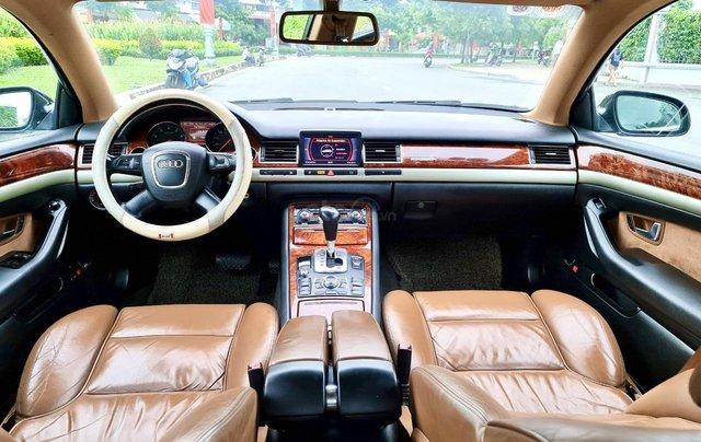 Audi A8 nhập Mỹ SX 2008, màu đen zin, xe 5 chỗ9