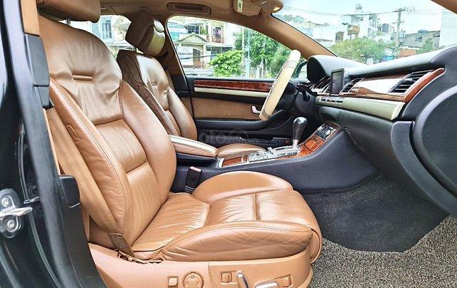 Audi A8 nhập Mỹ SX 2008, màu đen zin, xe 5 chỗ8