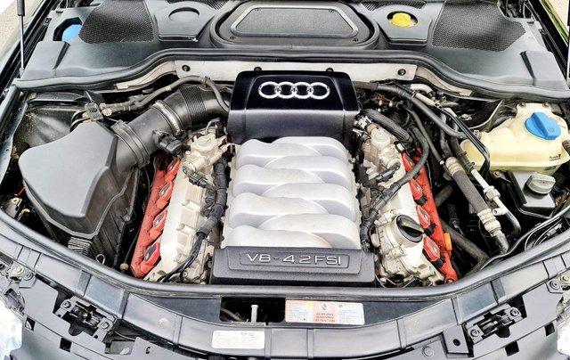 Audi A8 nhập Mỹ SX 2008, màu đen zin, xe 5 chỗ10
