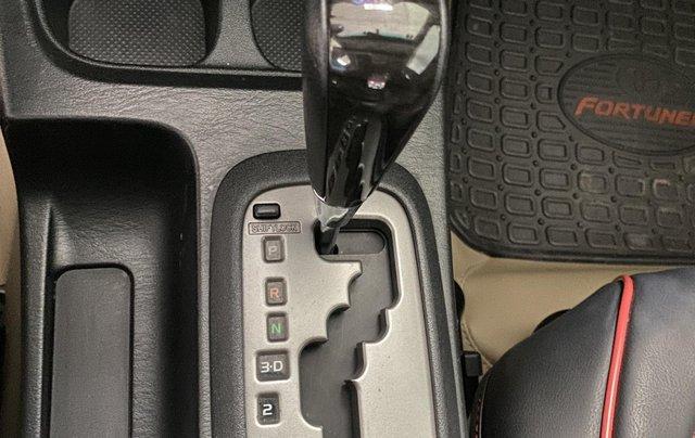 Bán Toyota Fortuner 2.7V sản xuất 2015, màu đen, số tự động, giá 750tr6