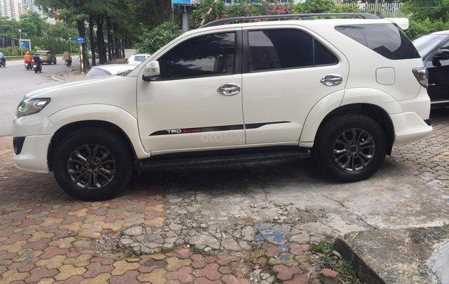 Bán nhanh Toyota Fortuner đời 2014, màu trắng3