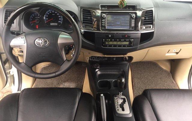Bán nhanh Toyota Fortuner đời 2014, màu trắng4