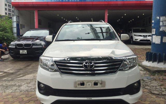Bán nhanh Toyota Fortuner đời 2014, màu trắng8