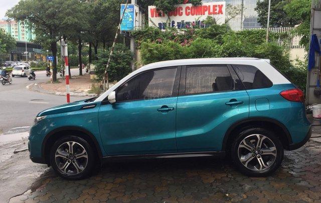 Bán xe Suzuki Vitara đời 2016, màu xanh, giá tốt2