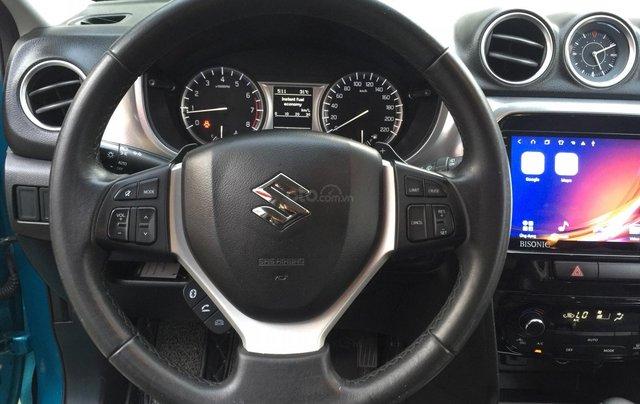 Bán xe Suzuki Vitara đời 2016, màu xanh, giá tốt5